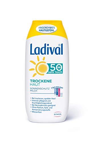 Ladival trockene Haut Milch Lsf 50+ 200 ml