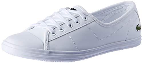 Lacoste Damen Ziane BL 1 CFA Sneaker, White, 42 EU