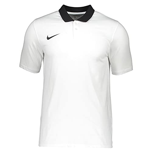 Nike CW6933 M NK DF PARK20 Polo SS Polo Shirt Mens White/Black/Black L