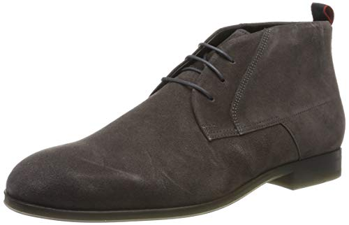 HUGO Boheme_Desb_sdfr, Herren Chukka Boots, Grau (Dark Grey 021), 39 EU (5 UK)