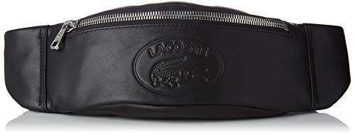 Lacoste - Nh2657ic, Bolsos bandolera Hombre, Negro (Black), 6x9.5x39.5 cm (W x...