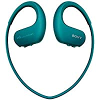 Sony NWWS413 Walkman - Reproductor MP3 deportivo (4 GB, resistente al agua salada y altas temperaturas), color azul