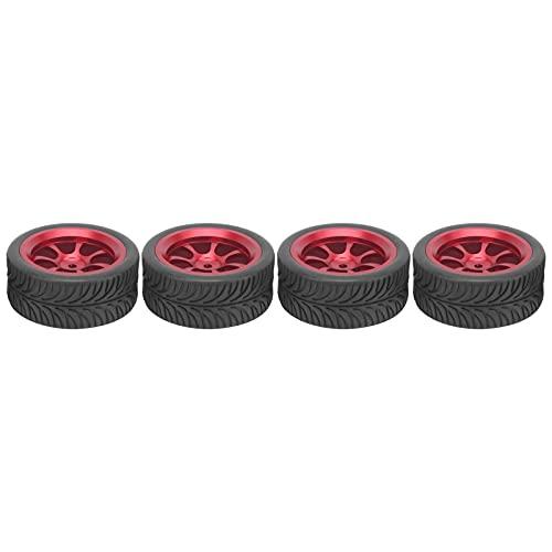 Neumático de Cubo de Coche RC, neumático de Goma RC Respetuoso con el Medio Ambiente de Alta Resistencia al Desgaste con Forro de Esponja para reemplazo para Coche RC