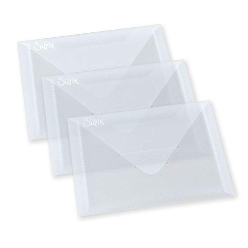 Multi-Colour 3 Pack 4 3//8 x 6 1//2-Inch Sizzix Magnetic Sheets