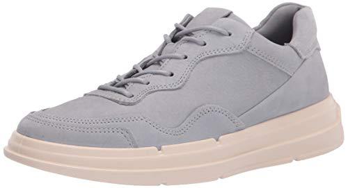 ECCO Damen Soft X Sneaker niedrige Turnschuhe, Silver Grey, 37 EU