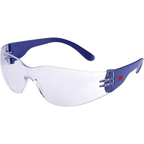 3M 2720 Schutzbrille 2720-Klassik, Polycarbonat, klar, Blau und transparent