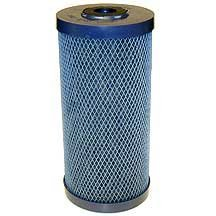 "Campbell HDTO Taste & Odor Filter Cartridge, 2 Mic, 9 3/4"", Large Capacity"