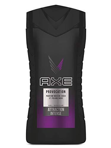AXE Gel Douche Provocation, Noix de coco et Poivre noir, Fraîcheur, 250ml