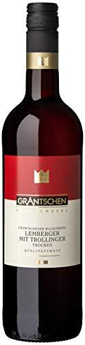 Württemberger Wein Grantschener Wildenberg Lemberger mit Trollinger QW trocken (1 x 0.75 l)