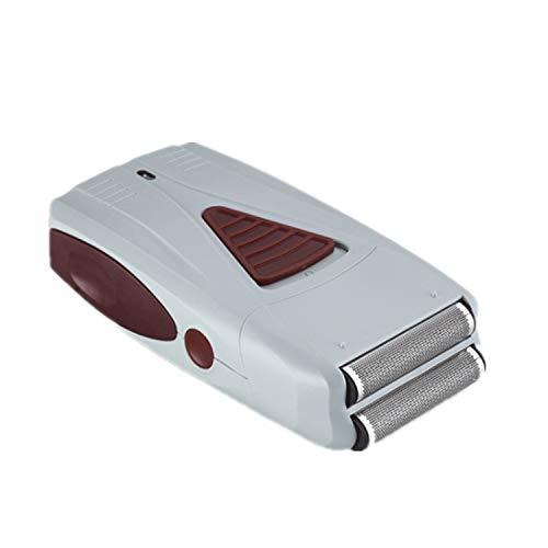 QJXSAN Professionelle Elektrorasierer for Männer USB Cordless/Akku-Rasierer Bartschneider Präzisionsmesser Netto-Anti-Rutsch-Design (Color : White)