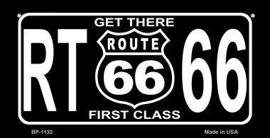 Koopje Wereld RT 66 Krijg Er Eerste Klasse Nieuwigheid Fiets Kentekenplaat (Met Sticky Notes)