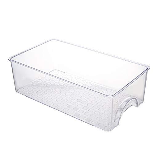 Niazi Fiambrera para frigorífico, tipo cajón, de plástico, para frutas y verduras
