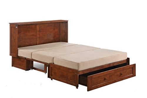 Clover Murphy Cabinet Bed   Cherry