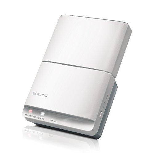 エレコム WiFi 中継器 無線LAN 11ac 867+300Mbps コンセント直挿しタイプ WTC-F1167AC