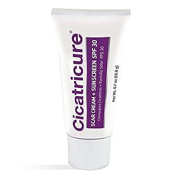 Cicatricure Scar Cream & Sunscreen SPF 30 0.7 Ounce