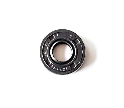 EAI Oil Seal 12mm X 28mm X 7mm TC Double Lip w/Spring. Metal Case w/Nitrile Rubber Coating