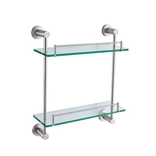 Goquik dubbele badkamer kast muur gemonteerd roestvrij staal badkamer glas dressoir tafel
