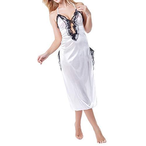 YJLYQ Erotismo Mujer, Disfraz Ertico Mujer Lencera Sexy Erotica Lenceria Sexy Regalos del Primer Aniversario De Boda Noche De Bodas Luna De Miel (Size : Large)