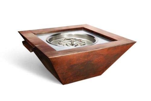 Buy Discount HPC Fire Sierra Copper Fire and Water Bowl w/Electronic Ignition - NG