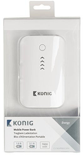 König CS7800PB001WH Powerbank weiß