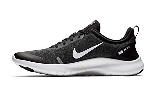 Nike Men's Flex Experience Run 8 Shoe, Black/White-cool Grey-reflective Silver, 10.5 Regular US