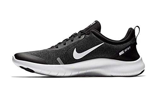 Nike Men's Flex Experience Run 8 Shoe, Black/White-Cool Grey-Reflective Silver, 9 Regular US