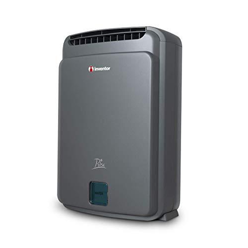 Inventor Rise, Deshumidificador Desecante con Zeolita e Ionizador, 8 litros/día, Modo Turbo, Modo Eco, Silencioso – 2 Años de Garantía