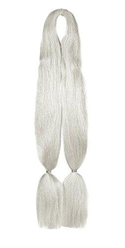 American Dream Kanekelon Dubbel vlechtwerk voor haarverlengingen, dreadlocks en creatieve styling - kleur 99 platina