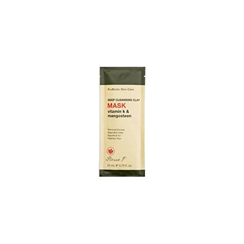 Pierre F Probiotic Deep Cleansing Clay Mask Sachet, 0.75 Fluid Ounce