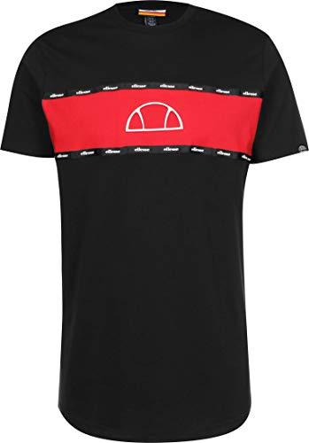 Ellesse de los Hombres Camiseta Sesia, Negro, M