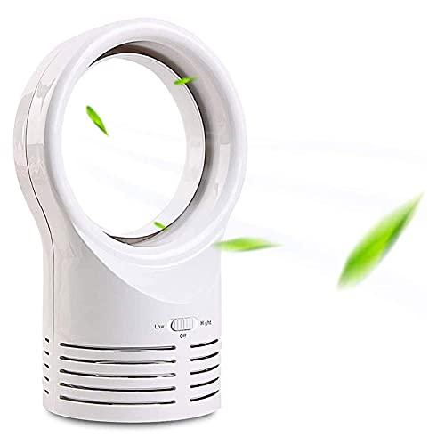 XWSM Ventilador Calefactor Sin Aspas Portátil Recargable Ventilador De Mano Ventilador Portátil Sin Aspas De Seguridad para Niños Adecuado para Dormitorio Uso De Habitación De Bebé