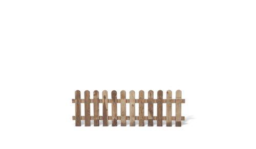 MEIN GARTEN VERSAND Günstige Zaunschnäppchen 5 x Gartenzäune + Lattenzäune Zaunfelder im Maß 180 x 60 cm (Breite x Höhe) aus Kiefer/Fichte, druckimprägniert Günstig & Gut Aktions Set