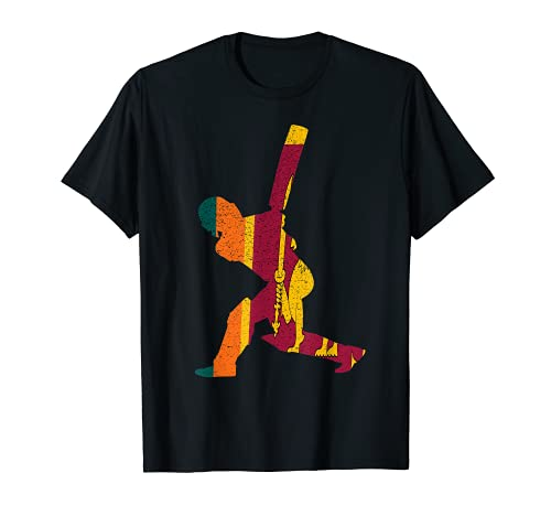 Sri Lanka Cricket Schlagmann Srilankanische Fan Geschenk T-Shirt