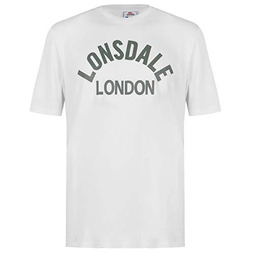 Lonsdale Hombre Arch Camiseta Manga Corta