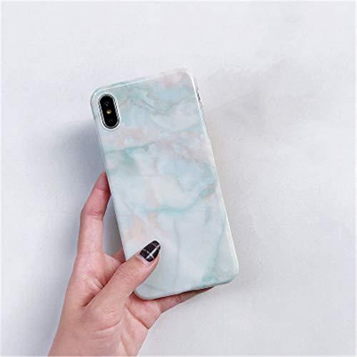 Marble Pattern 6s Apple x funda para teléfono móvil XS Max/XR for iPhoneX/8plu funda para teléfono móvil Cubierta trasera iPhone XR (6.1) 2