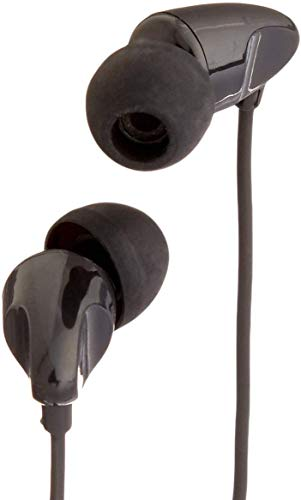 AmazonBasics - Auriculares in-ear, color negro