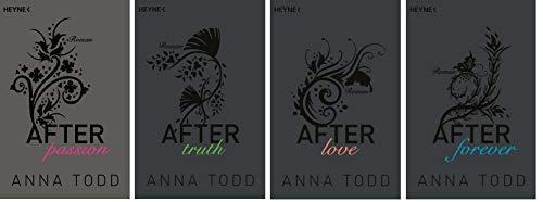 Anna Todd-Set: Die 'After'-Reihe