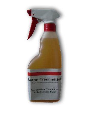 1 Liter ES Schalöl Trennmittel für Beton Sprühflasche