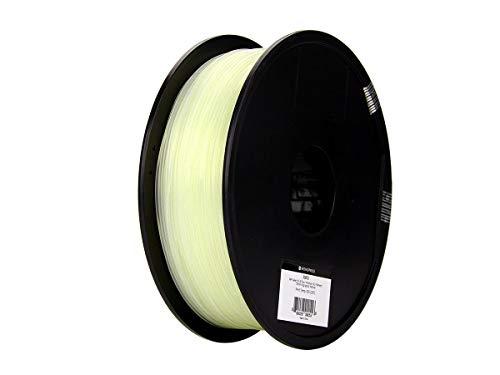 Monoprice, filamento 3D Premium in PLA Plus+ - Colore naturale - Bobina da 1 kg, spessore 1,75 mm   Biodegradabile   Stessa resistenza dell'ABS standard   Per tutte le stampanti compatibili con PLA