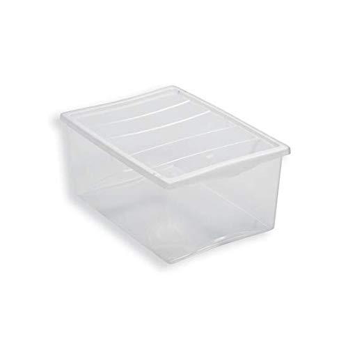 scatole per armadio plastica 50x40x25 BELLI E FORTI SCATOLA IN PLASTICA PORTA OGGETTI SPRING BOX 55 X 39 X 25