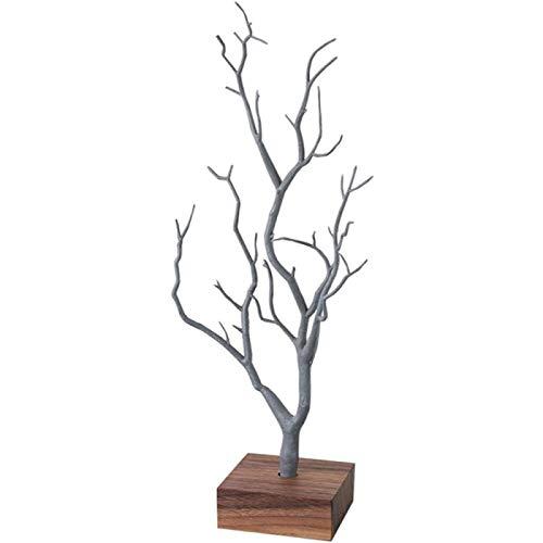 SONG Exhibición de La Joyería,Organizador del Sostenedor de La Pulsera del Pendiente del Collar de La Forma del árbol del Tenedor,Decoración de Escritorio Regalos Joyero para Mujer,B