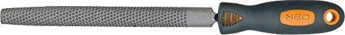 Neo Tools 37-545 Lima para madera, Semicircular
