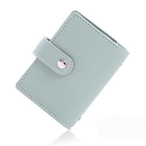 カードケース クレジットカードケース カードホルダー 大容量 薄型 カード入れ 革 レザー 磁気防止 スキミング防止 【26枚収納】グリーン
