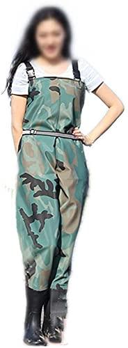 Pantalones de zancos Nylon Cofre Waders Camo Pesca Waders para hombres con botas Uso para pesca con mosca Pato de caza de patos Inundaciones de emergencia 100% Pantalones de vadeo impermeable para hom