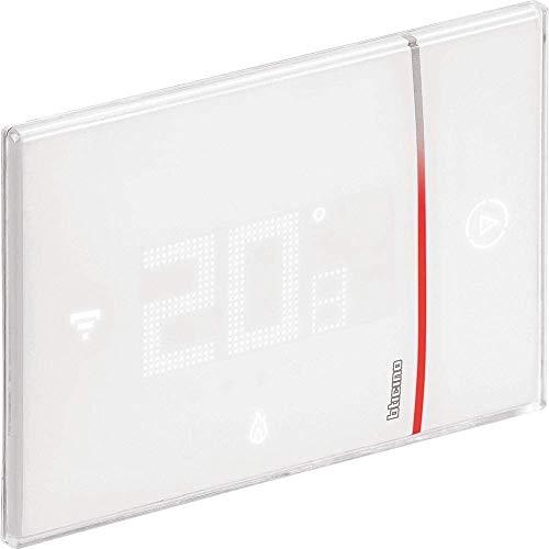 Bticino Smarther2 - Termostato WiFi Inteligente con Netatmo XW8002, empotrable, Blanco – Versión Profesional