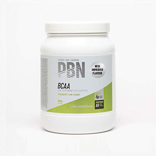PBN - Premium Body Nutrition BCAA 500g Strawberry Lime, New Improved Flavour