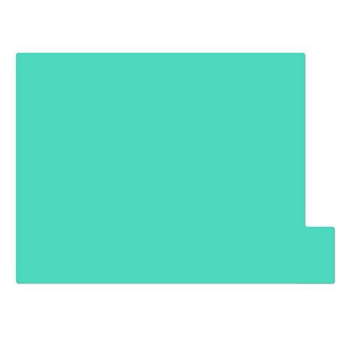 仕切りガイド【A4ヨコ型 [ラテラル] 】書類 棚 カルテフォルダー 仕切り板 整理 トレー 10枚セット (グリーン)