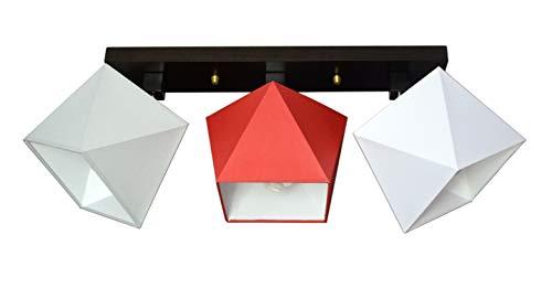 Plafondlamp plafondlamp binnenverlichting designer dimbare lamp licht vele kleuren D3 Parijs