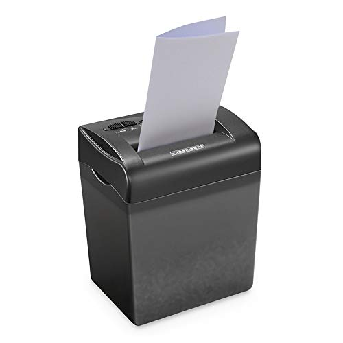 Best Prices! LEFJDNGB Desktop Mini Paper Shredder Class 4 Confidential 4 × 35mm Small Office Docume...