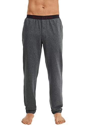 Marc O'Polo Body & Beach Herren M-Pants\' Schlafanzughose, Schwarz (Schwarz-Jaspe 002), 0
